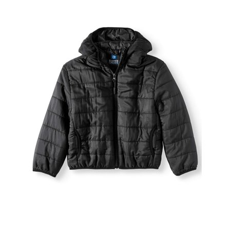 Water Resistant Packable Puffer Jacket (Little Boys & Big - Varsity Jackets For Boys