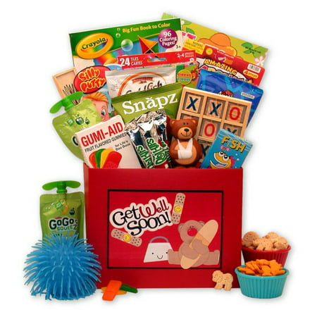 Gift Basket Drop Shipping Get Well Beary Soon Get Well Gift Box For Kids - Halloween Gift Baskets For Children