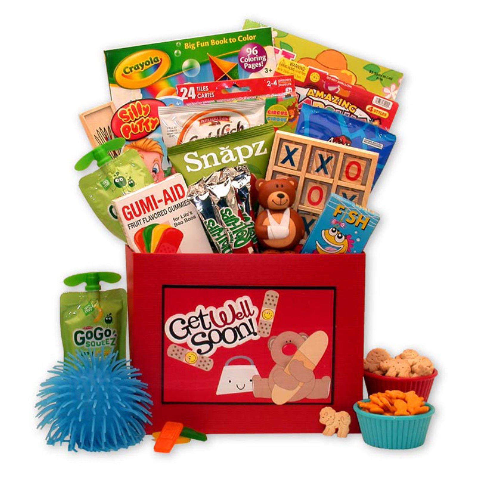 Gift Basket Drop Shipping Get Well Beary Soon Get Well Gift Box For Kids