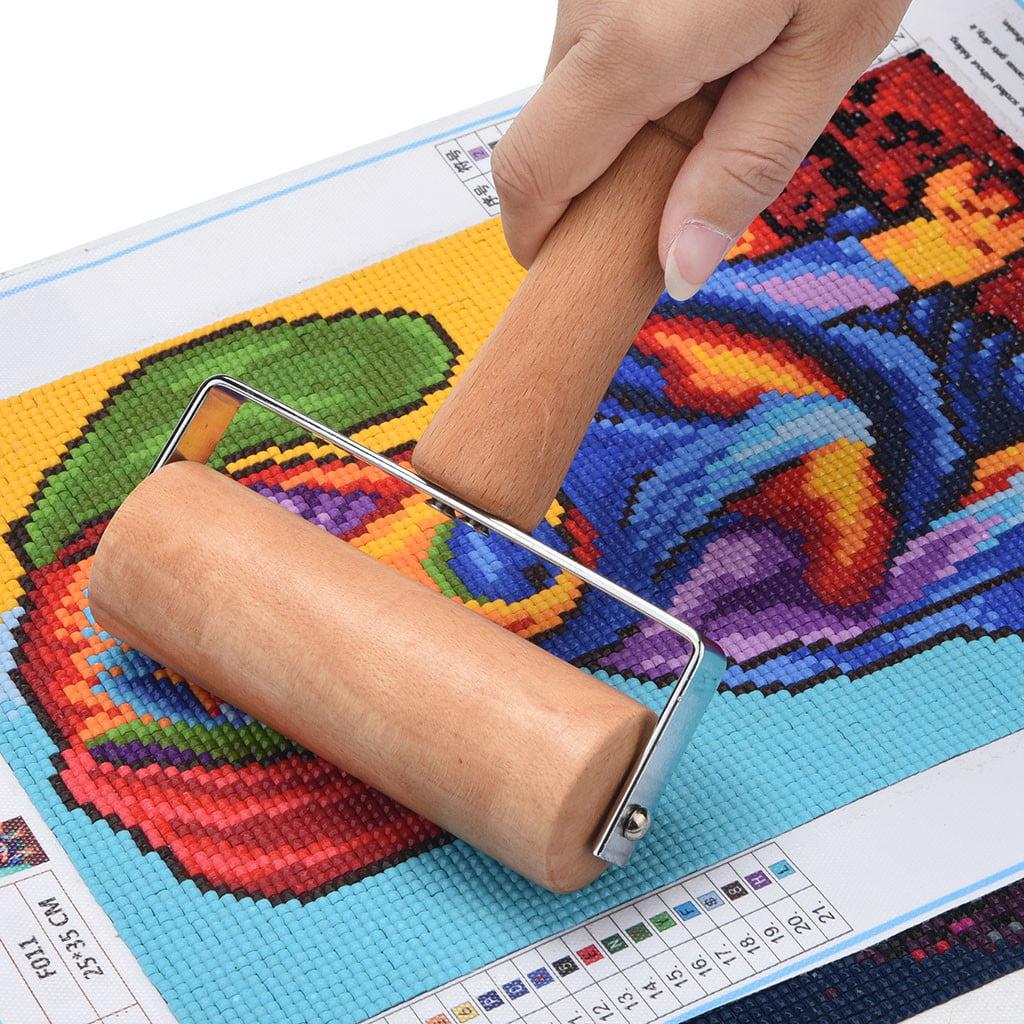 Mallroom 5D Diamond Painting Tool Set Wood Roller DIY Diamond Painting Accessories for Di