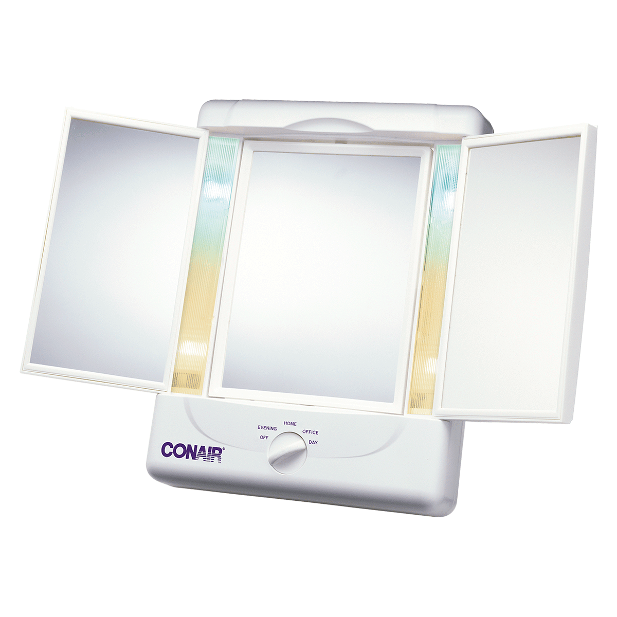 Two-Sided Ligthed Makeup Mirror