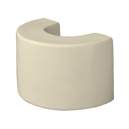 "Bathroom Pedestal Sink Extender Booster 8"" H Bone Ceramic 