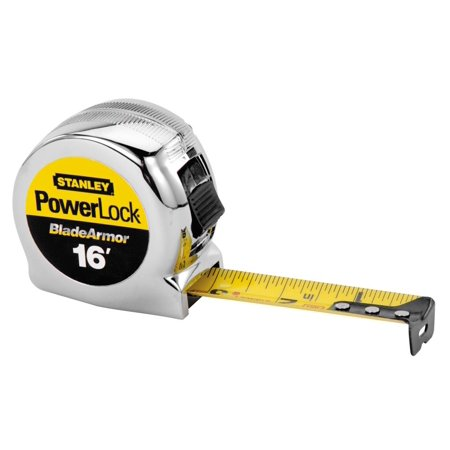 STANLEY Tape Measure1 In x 16 ftYellow Black 33 516
