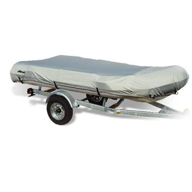 WAKE DG-DG Inflatable Boat Covers in Grey - Fits 12. 5 ft.  L x 70 inch Beam Width
