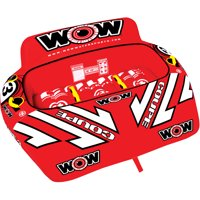 WOW World of Watersports, 3P Coupe Cockpit Towable Tube, 3 Riders
