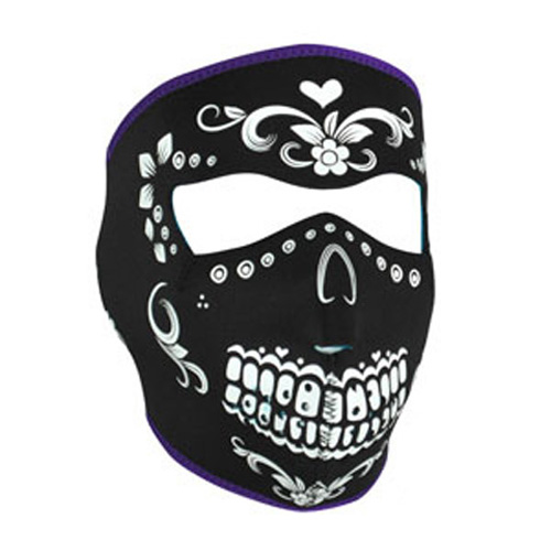 FULL MASK, NEOPRENE, MUERTE REVERSIBLE TO TEAL