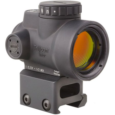 Trijicon 1x25mm MRO 2 0 MOA Adjustable Green Dot Sight w/ Full Co-Witness  Mount - MRO-C-2200030
