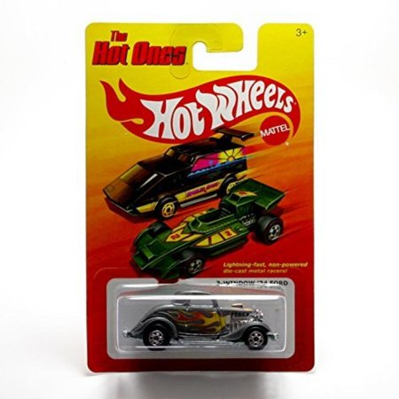 3 Window 34 Ford  Silver    The Hot Ones   2011 Release Of The 80S Classic Vintage Hot Wheels