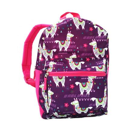 Wonder Nation Llama Print Backpack