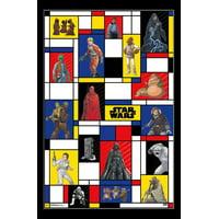 Star Wars - Pop Grid Laminated Poster Print (22 x 34)