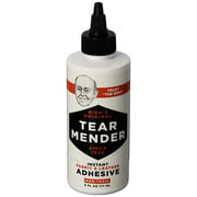 Tear Mender Instant Fabric and Leather Adhesive, 6 oz. Bottle, 12 Pack, TG-6H-C12