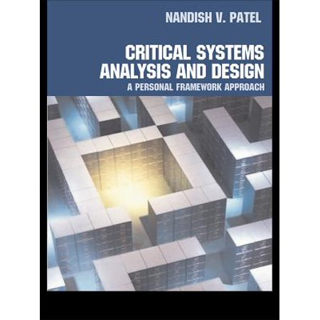 Critical Systems Analysis and Design - eBook