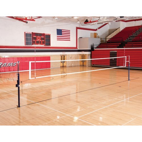 Spalding One-Court Elite Steel Volleyball System