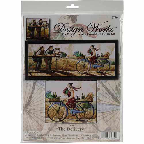 Design Works Counted Cross-Stitch Kit, The Delivery