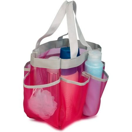 Honey Can Do Quick Dry Shower Tote With Handles Multicolor