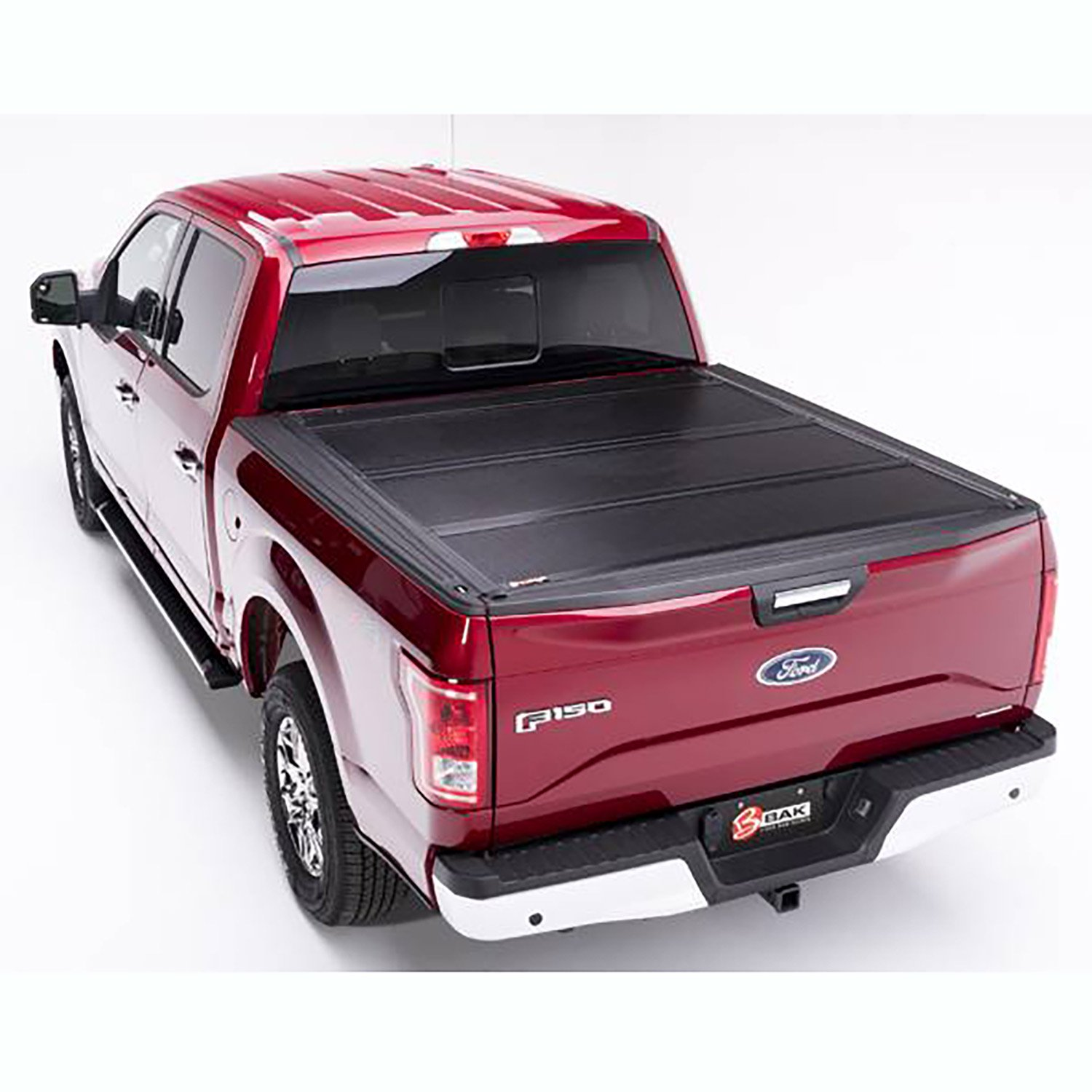 Bak Industries Bak Flip F1 Hard Roll Up Tonneau Truck Bed Cover for Ford F 150