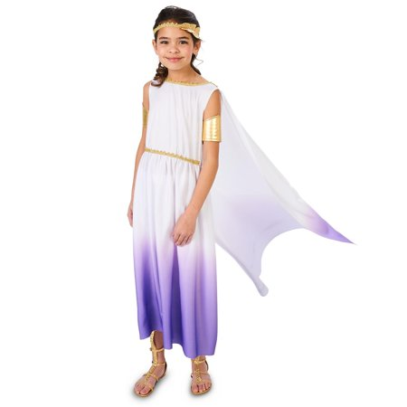Purple Passion Greek Goddess Child (Children's Greek Costume Ideas)