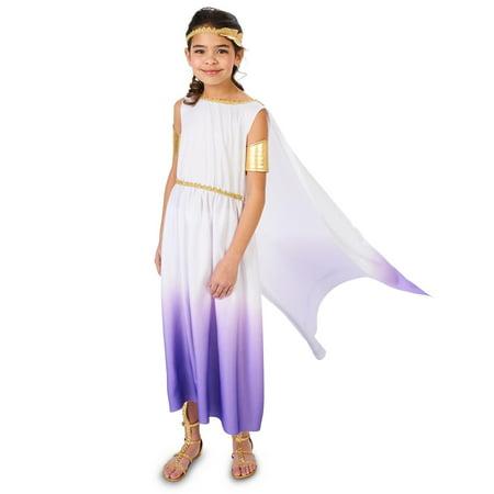 Purple Passion Greek Goddess Child Costume for $<!---->