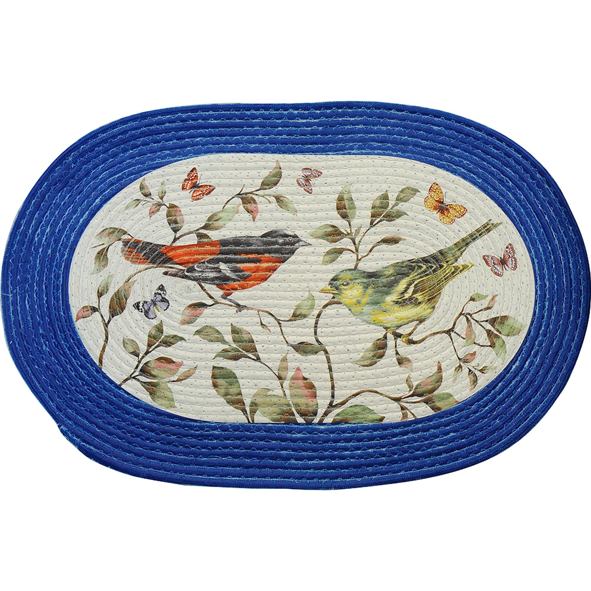 "Braided Rug Love Birds, 20"" x 30"" by Achim Importing Co. Inc"