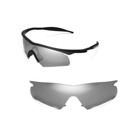 58fb77a71cf9 Walleva - Walleva Titanium Replacement Lenses For Oakley M Frame Hybrid  Sunglasses - Walmart.com