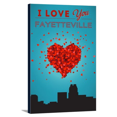I Love You Fayetteville North Carolina