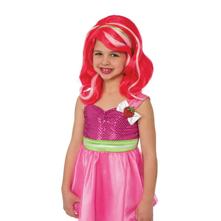 Girls Strawberry Shortcake Costume - Strawberry Shortcake Wig