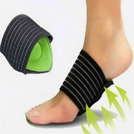 Aptoco 2 Pairs Foot Cushioned Arch Support Helps Decrease Fasciitis Aid Plantar Fasciitis Pain