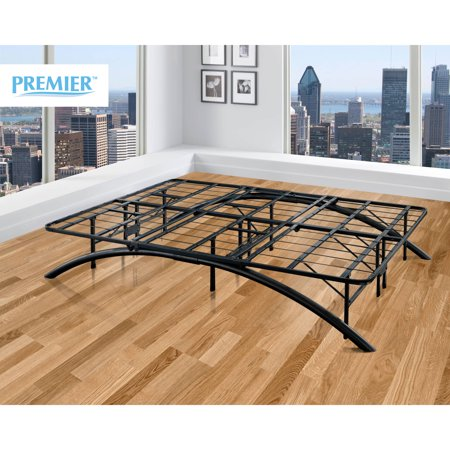 Premier Ellipse Arch Platform Bed Frame, Black, Multiple Sizes