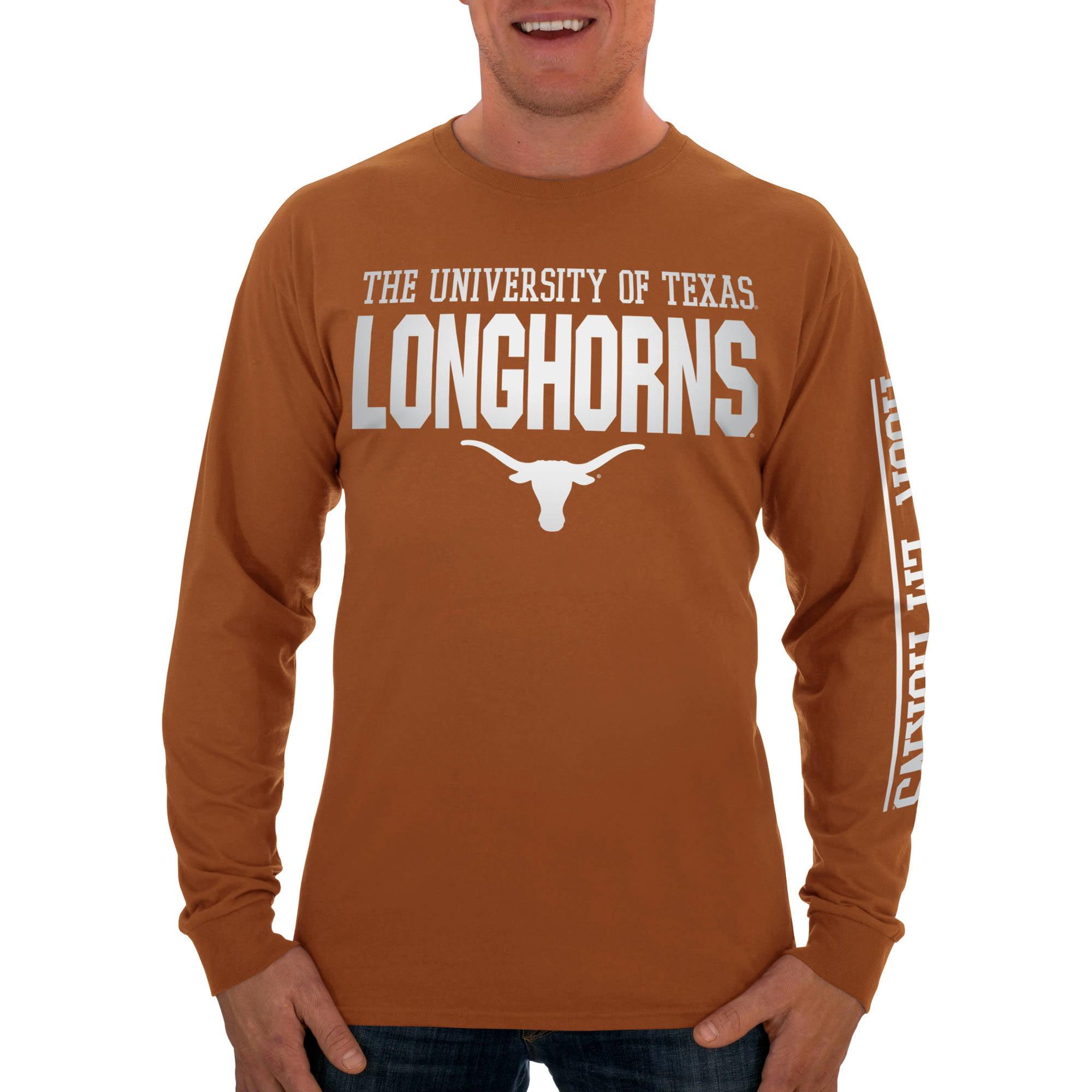 Russell NCAA Texas Longhorns Big Men's Long  T-Shirt