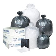 Inteplast Group SL3858XPK 38 x 58 in. 0.90 mil. Low-Density Can Liner - Black