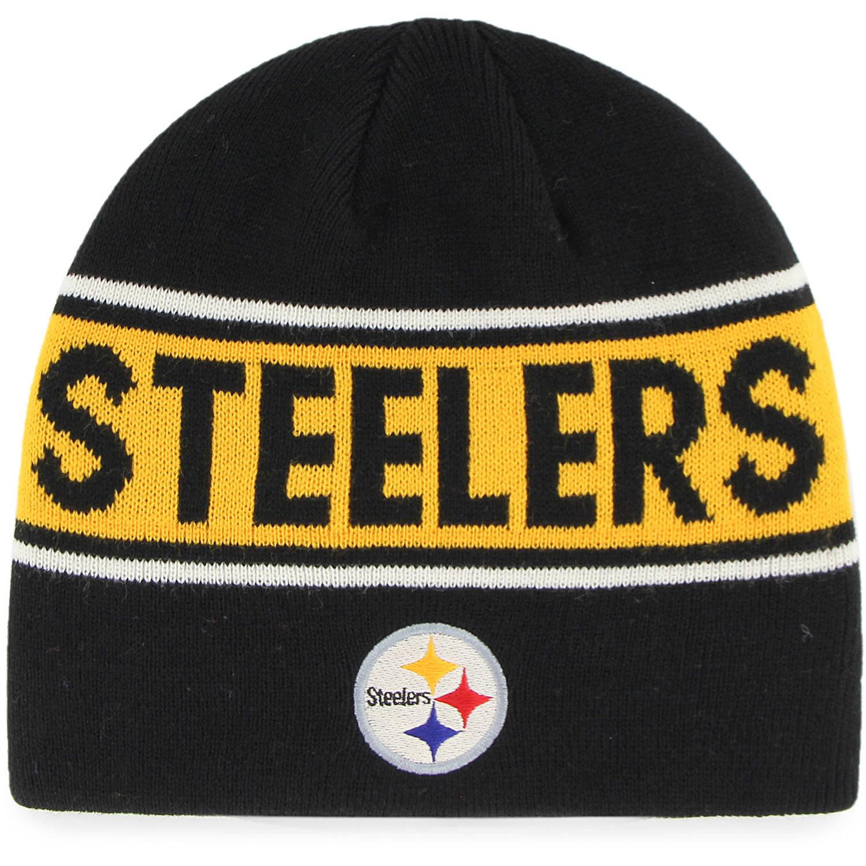 NFL Pittsburgh Steelers Bonneville Knit Beanie by Fan Favorite by