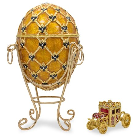 1897 Coronation Royal Russian Egg 7 Inches ()