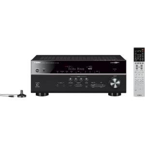 yamaha rx v681 3d 7 2 channel a v receiver with bluetooth. Black Bedroom Furniture Sets. Home Design Ideas