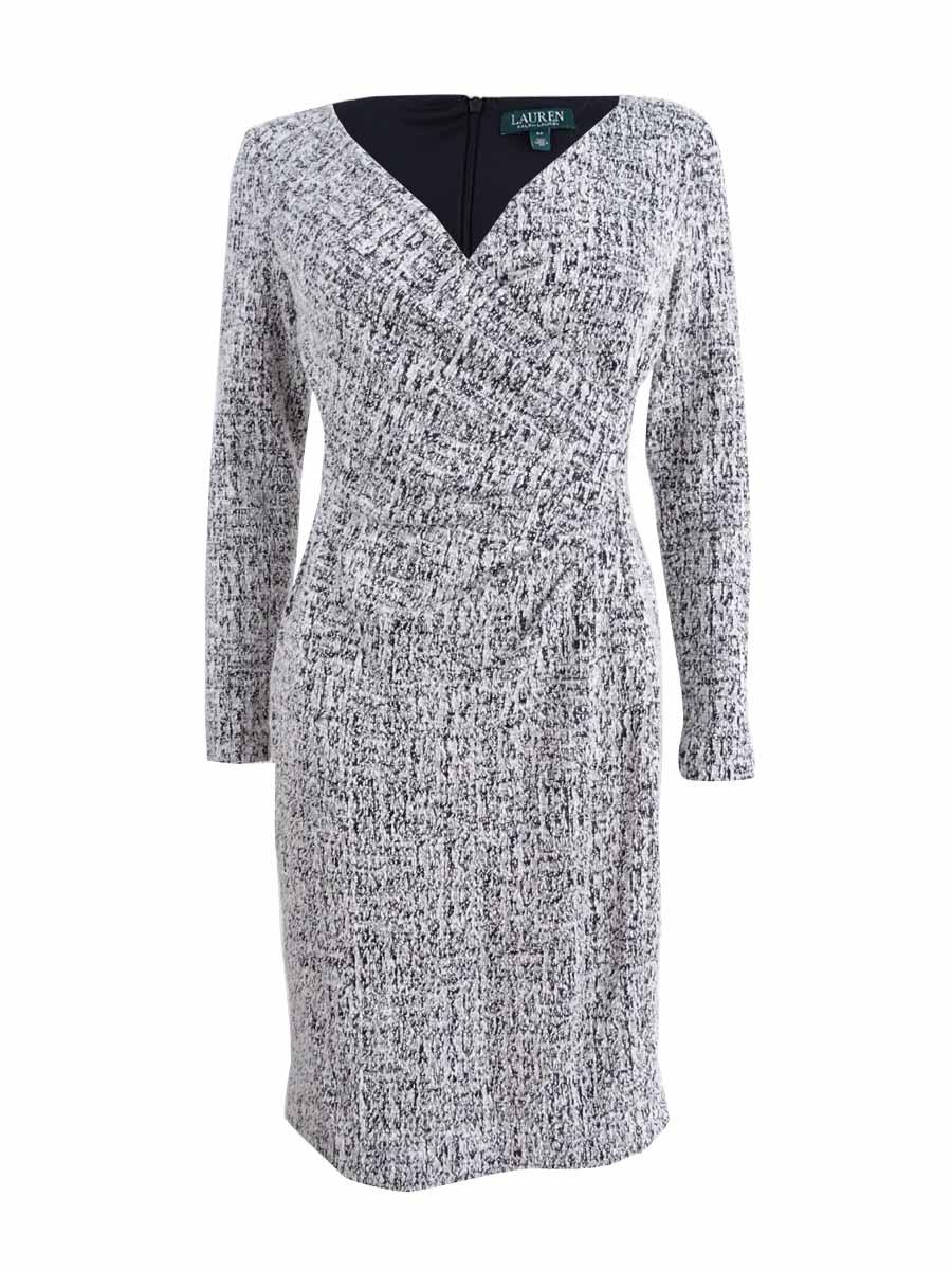 Lauren Ralph Lauren Women's Petite Printed Dress