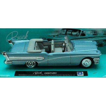 1:43 Scale Die-Cast Blue Buick Century Convertible