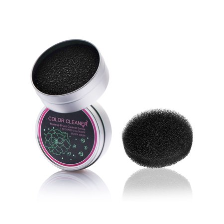 Zodaca Makeup Brush Cleaner Remover Tool Sponge Eye Shadow Eyeliner Color Brushes Clean Color Switch (Best Makeup Brush Cleaner 2019)