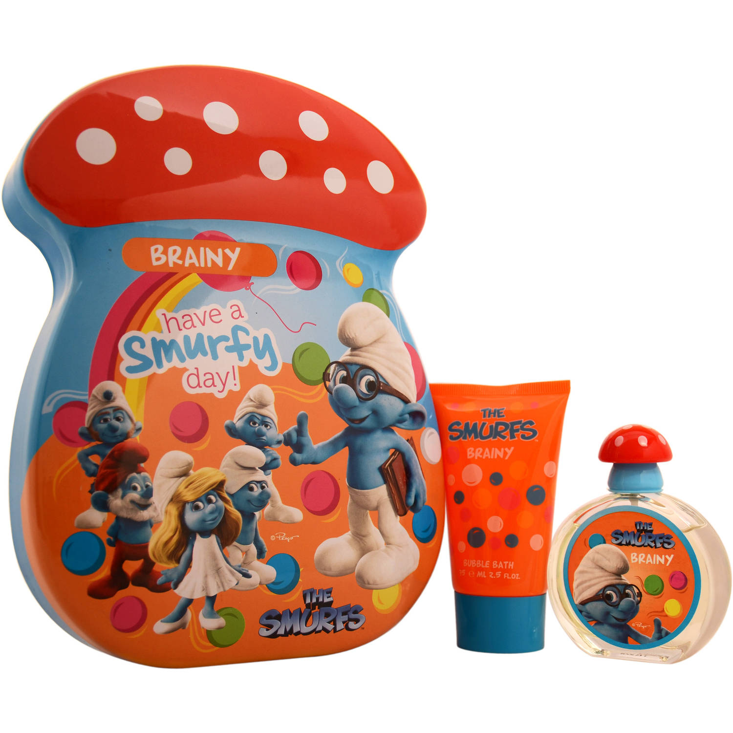 First American Brands The Smurfs Brainy Gift Set, 2 pc