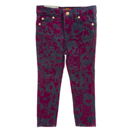 7 for All Mankind Girls Skinny Legging (Seven For All Mankind Button Fly Jeans)