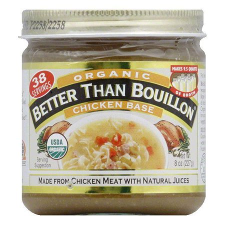Organic Chicken Base - Better Than Bouillon Base Organic Chicken, 8 OZ (Pack of 6)