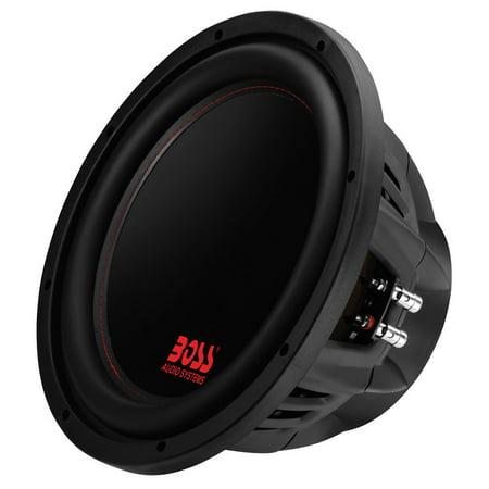 BOSS Audio P129DC Phantom12 inch DUAL Voice Coil (4 Ohm) 2600-watt Subwoofer -