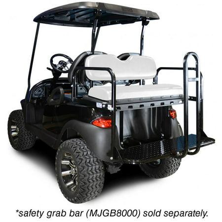 Madjax Genesis 150 Rear Flip Seat Kit for Club Car Precedent Golf Carts (Club Accessory Kit)
