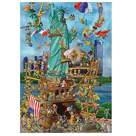 Statue of Liberty 1000 pcs. (D-Toys) - Jigsaw Puzzles by Outset Media (DT1404)