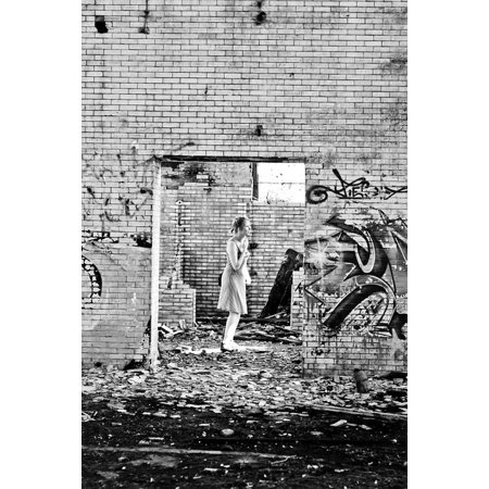 Canvas Print Industry Abandoned Urbex Urban Exploration Stretched Canvas 10 x