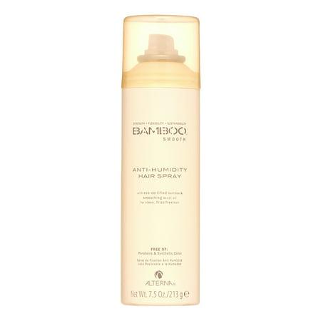 Anti Viral Spray - Alterna Bamboo Smooth Anti-Humidity Hair Spray, 7.5 Oz