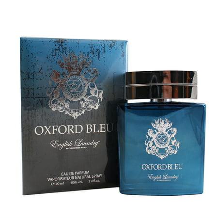 Oxford Bleu Eau De Parfum Spray 3.4 Oz / 100 Ml for Men by English