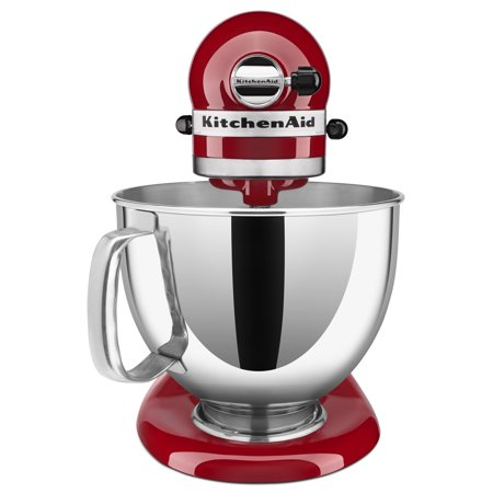 Best KitchenAid Artisan Series 5 Quart Tilt-Head Stand Mixer, Empire Red (KSM150PSER) deal