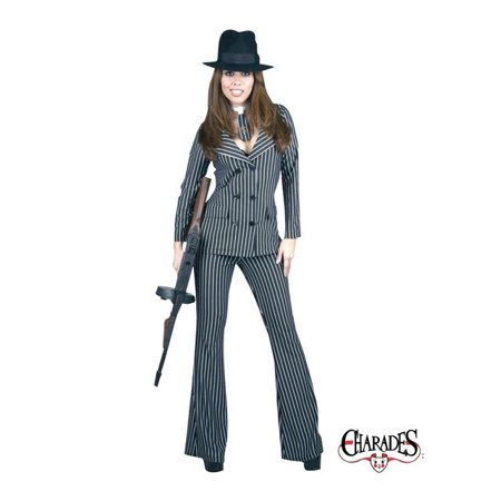 Adult Gangster Moll Costume - Gangster Moll Costumes