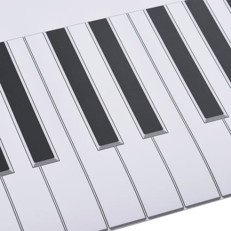 Fingering Version 88 Keys Piano Keyboard Fingering Practice Chart Sheet Piano Teaching Guide Assistive Tool for Bebinners Students Kids - image 4 of 7