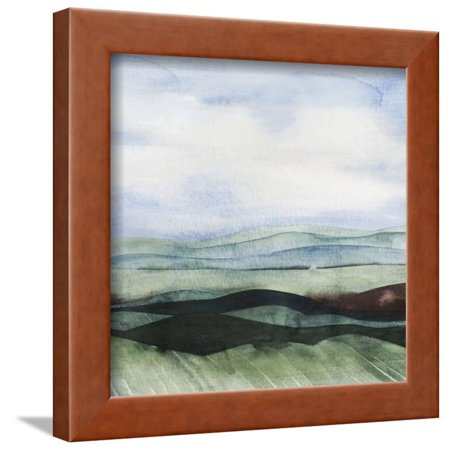 Jeweltone Ridges I Framed Print Wall Art By Grace (Greece Ridge)