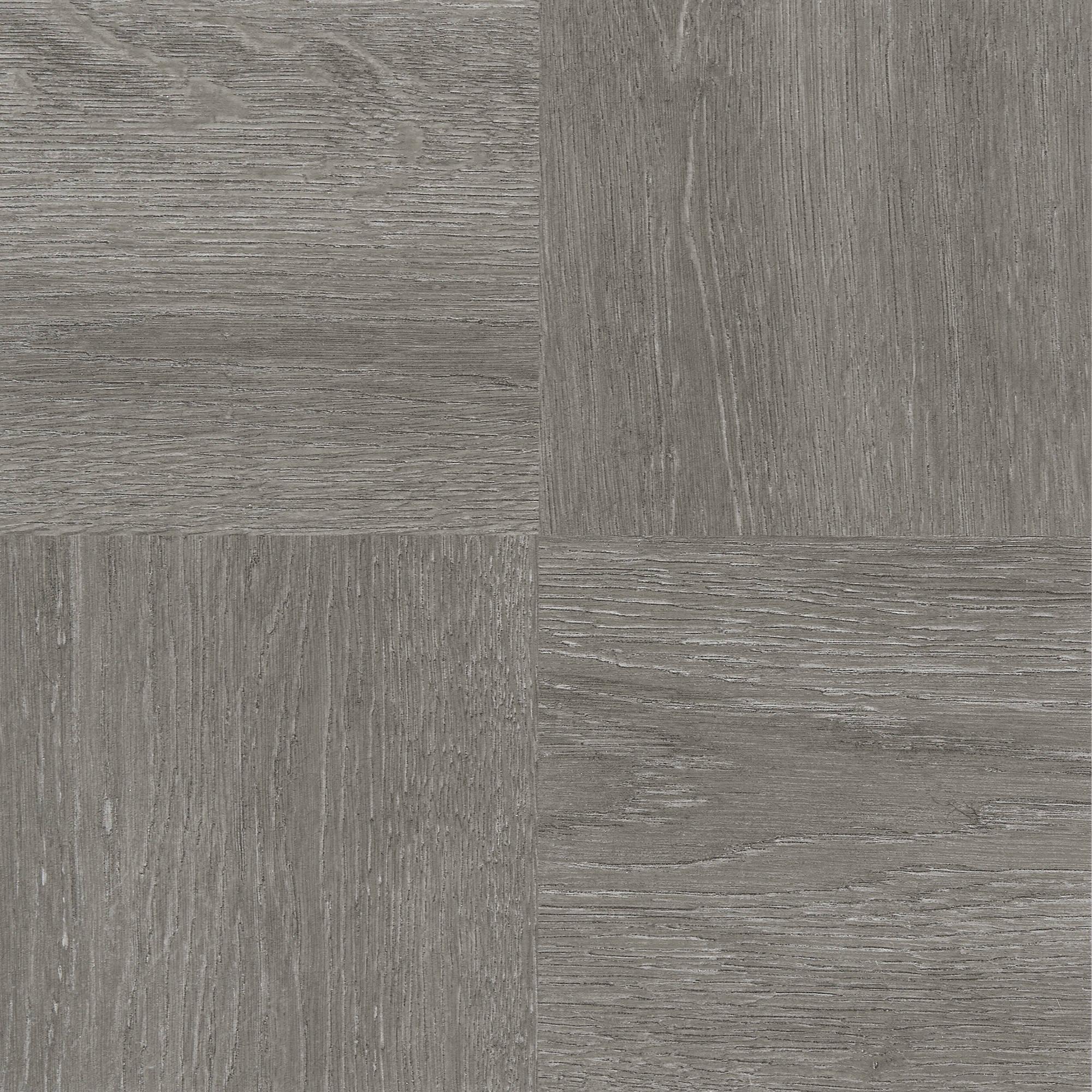 "Nexus Charcoal Grey Wood 12"" x 12"" Self-Adhesive Vinyl Floor Tile #229, 20 Tiles"